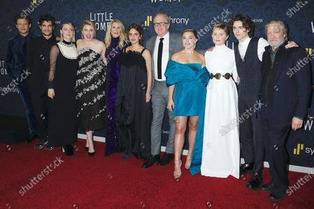Editorial photo of 'Little Women' film premiere, Arrivals, The Museum of Modern Art, New York, USA - 07 Dec 2019