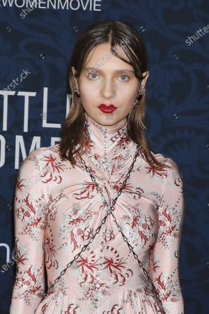 Editorial image of 'Little Women' film premiere, Arrivals, The Museum of Modern Art, New York, USA - 07 Dec 2019