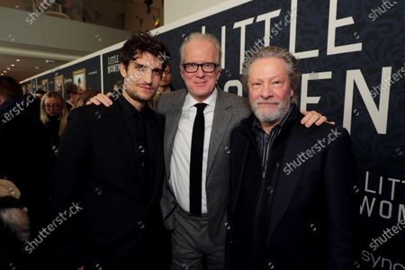 Louis Garrel, Tracy Letts and Chris Cooper
