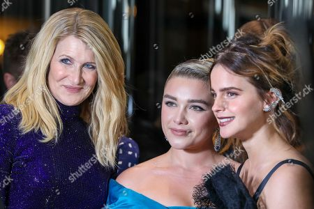 Laura Dern, Florence Pugh and Emma Watson
