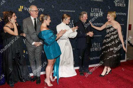 Emma Watson, Tracy Letts, Florence Pugh, Eliza Scanlen, Chris Cooper and Greta Gerwig