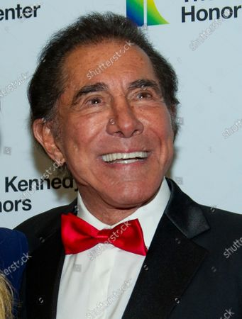 Stock Picture of Stephen Wynn arrives for the formal Artist's Dinner honoring the recipients of the 42nd Annual Kennedy Center Honors at the United States Department of State