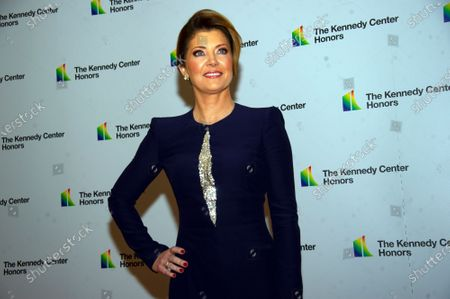 Stock Picture of CBS Evening News Anchor Norah O'Donnell arrives for the formal Artist's Dinner honoring the recipients of the 42nd Annual Kennedy Center Honors at the United States Department of State