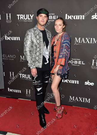 Editorial image of Maxim December Issue Party, Art Basel, The Delano Hotel, Miami, USA - 07 Dec 2019
