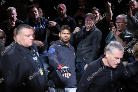 Editorial picture of UFC Fight Night, Washington, USA - 08 Dec 2019