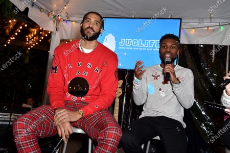 JaVale McGee and Kez Reed