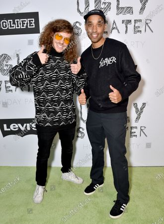 Editorial photo of Levi's + JUGLIFE event, Levi's Haus, Los Angeles, USA - 07 Dec 2019