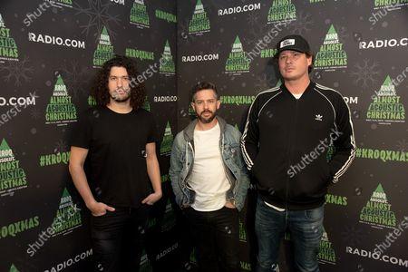 Angels and Airwaves - Ilan Rubin, Matthew Rubano, and Tom DeLonge