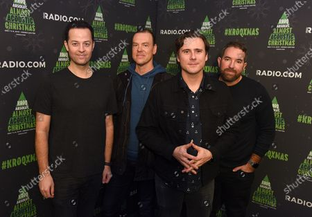 Stock Image of Jimmy Eat World - Tom Linton, Rick Burch, Jim Adkins and Zach Lind