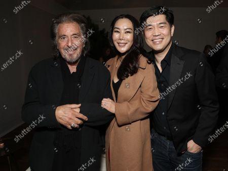 Al Pacino, Dori Cheng, Albert Cheng