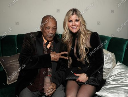 Stock Picture of Quincy Jones, Laura Schara