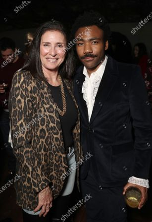 Mimi Rogers, Donald Glover