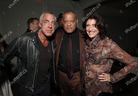 Titus Welliver, Laurence Fishburne, Amy Aquino
