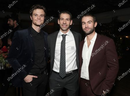 Jack Quaid, Amazon VP of Finance Dan Jedda, Chace Crawford