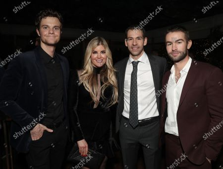 Jack Quaid, Laura Schara, Amazon VP of Finance Dan Jedda, Chace Crawford
