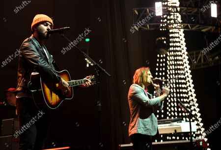 Editorial image of KROQ Almost Acoustic Christmas 2019, Show, Honda Center, Los Angeles, USA - 07 Dec 2019