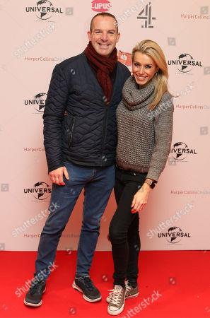 Stock Photo of Martin Lewis and Lara Lewington