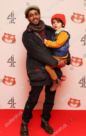 Adeel Akhtar and son