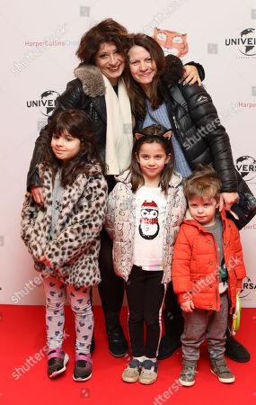 Shappi Khorsandi and family
