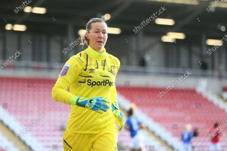 Stock Image of Tinja-Riikka Korpela of Everton