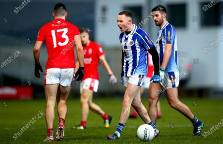 Eire Og (Carlow) vs Ballyboden St. Enda's (Dublin) . Eire Og's Christopher Blake and Cathal Flaherty of Ballyboden St. Enda's