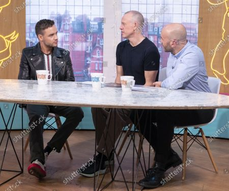 Liam Payne, Tim Lovejoy and Simon Rimmer