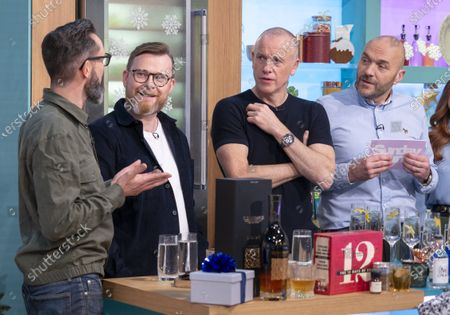 Neil and Joel with Tim Lovejoy and Simon Rimmer