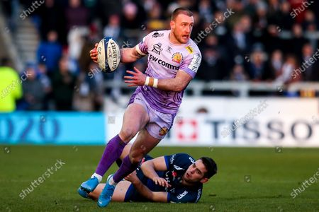 Editorial photo of Sale Sharks v Exeter Chiefs, UK - 08 Dec 2019