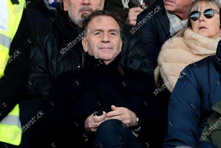 Brescia's president Massimo Cellino during the Italian Serie A soccer match Spal vs Brescia Calcio at Paolo Mazza stadium in Ferrara, Italy, 08 December 2019.