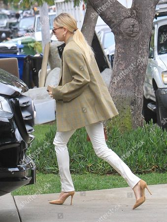 Editorial photo of Hailey Bieber out and about, Los Angeles, USA - 07 Dec 2019