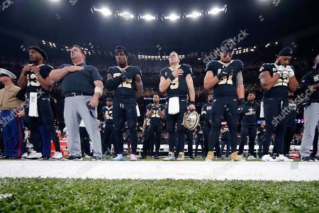 Editorial picture of 49ers Saints Football, New Orleans, USA - 08 Dec 2019