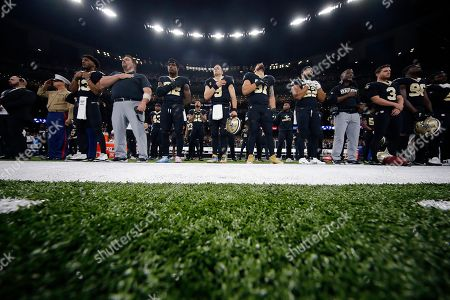 Editorial photo of 49ers Saints Football, New Orleans, USA - 08 Dec 2019