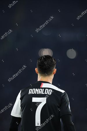 Cristiano Ronaldo of Juventus reacts during the Italian championship Serie A football match between SS Lazio and Juventus on at Stadio Olimpico in Rome, Italy - Photo Federico Proietti/ESPA-Images