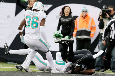 Editorial photo of Dolphins Jets Football, East Rutherford, USA - 08 Dec 2019