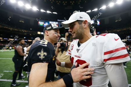 Editorial image of 49ers Saints Football, New Orleans, USA - 08 Dec 2019