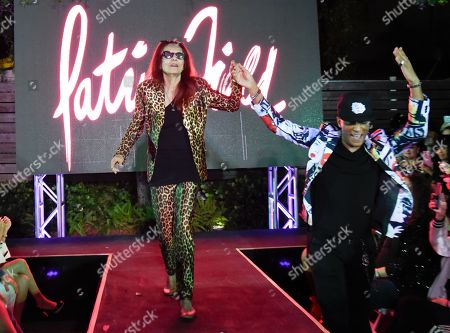 Patricia Field on the catwalk