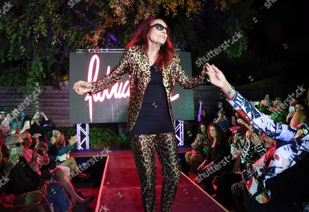 Stock Photo of Patricia Field on the catwalk