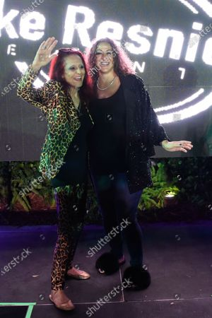 Stock Picture of Patricia Field and Nicole Tuck