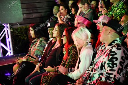 Stock Image of Patricia Field and Nicole Tuck in the front row