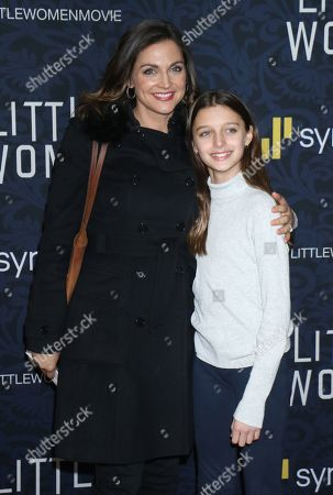 Paula Faris and daughter Caroline Grace Krueger