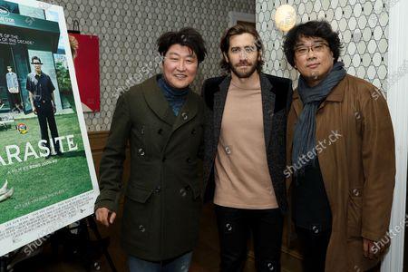 Stock Image of Kang-ho Song, Jake Gyllenhaal, Bong Joon Ho