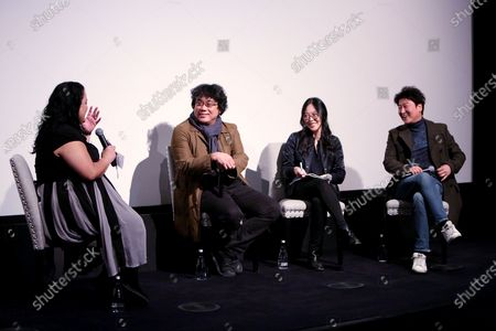 Stock Image of Jenelle Riley, Bong Joon Ho, Kang-ho Song