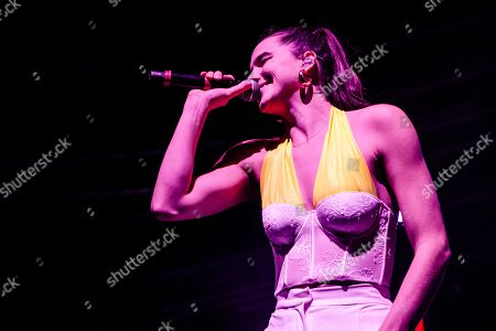 Editorial image of Sofi Tukker in concert in Fabrique, Milan, Italy - 08 Dec 2019