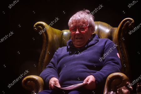 Stock Photo of Gregor Fisher reads a bedtime story