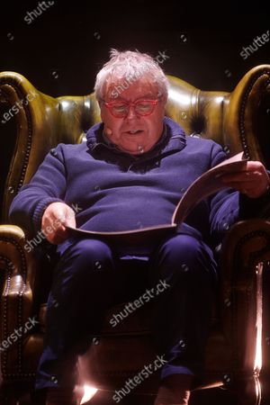 Stock Picture of Gregor Fisher reads a bedtime story