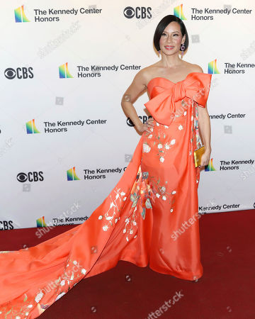 Lucy Liu attends the 42nd Annual Kennedy Center Honors at The Kennedy Center, in Washington
