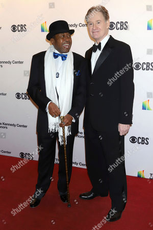 Stock Photo of Ben Vereen, Kevin Kline. Ben Vereen, left, and Kevin Kline attend the 42nd Annual Kennedy Center Honors at The Kennedy Center, in Washington