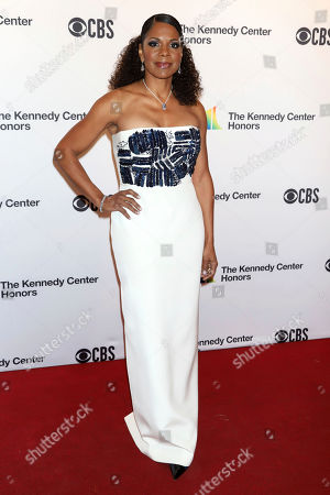 Audra McDonald attends the 42nd Annual Kennedy Center Honors at The Kennedy Center, in Washington