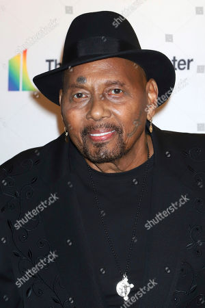 Stock Image of Aaron Neville attends the 42nd Annual Kennedy Center Honors at The Kennedy Center, in Washington