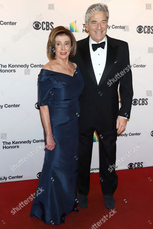 Nancy Pelosi, Paul Pelosi. Speaker of the House Nancy Pelosi, D-Calif., and her husband, Paul Pelosi, attend the 42nd Annual Kennedy Center Honors at The Kennedy Center, in Washington